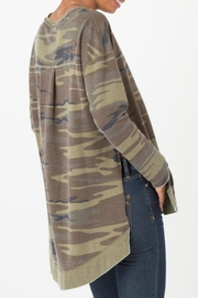 z supply Camo Weekender Pullover - Side cropped