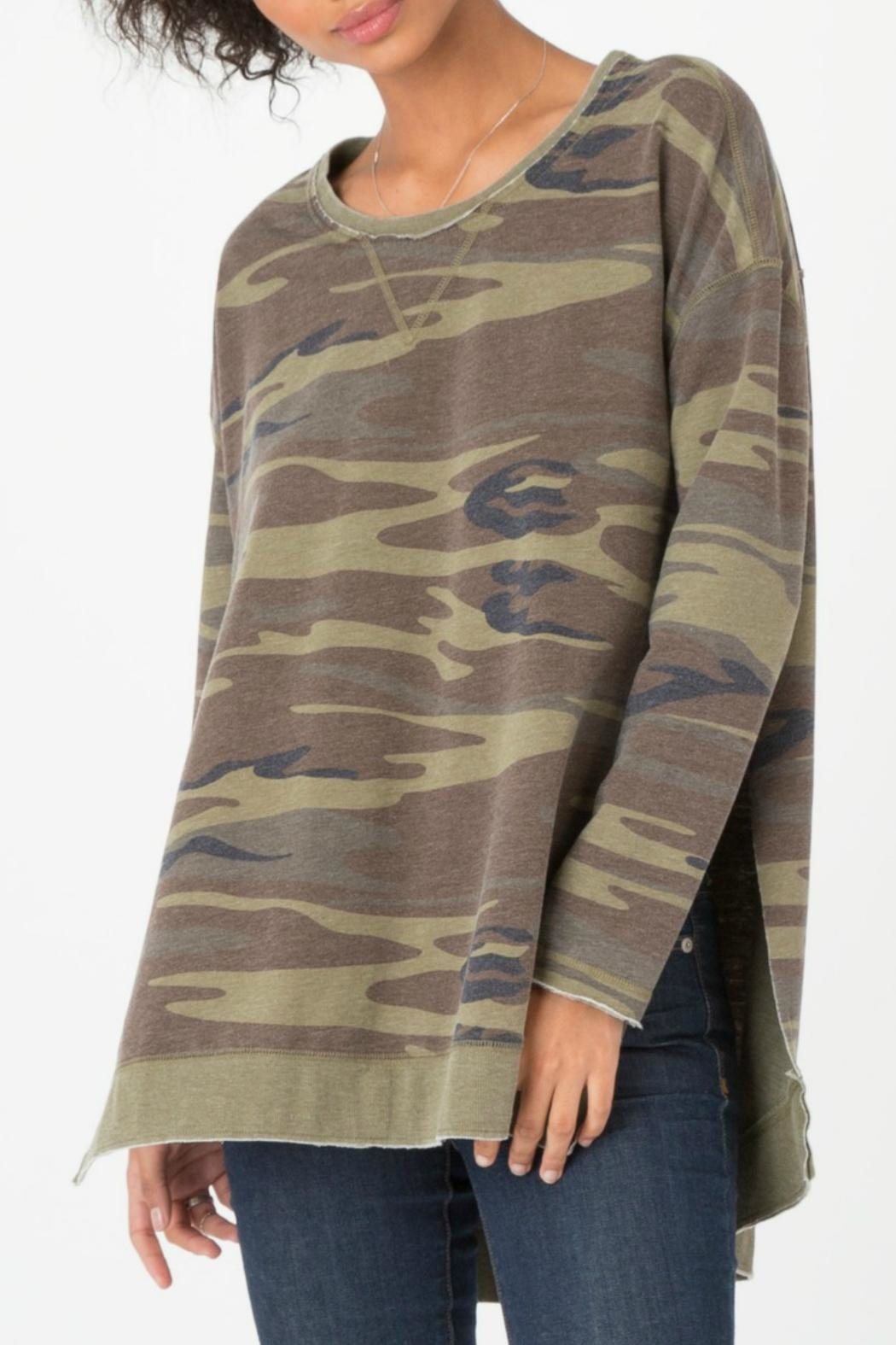 z supply Camo Weekender Pullover - Main Image