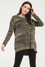z supply Camo Weekender Sweater - Product Mini Image