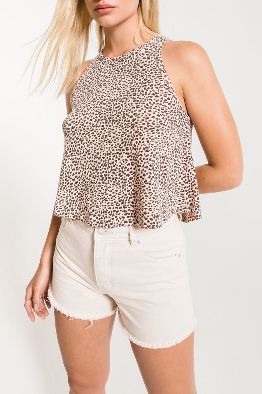 Z Supply  Cheetah Swing Tank - Front Cropped Image