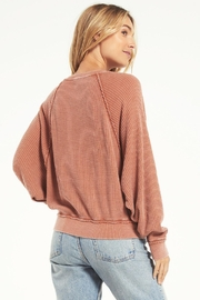 z supply Claire Waffle Longsleeve - Side cropped