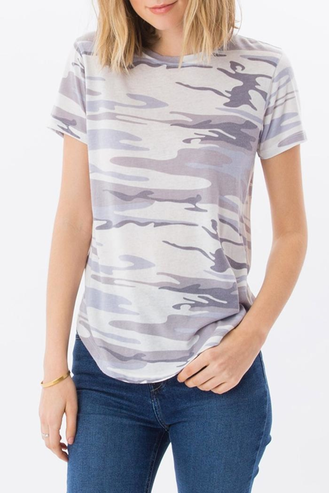 z supply Classic Camo T-Shirt - Front Cropped Image