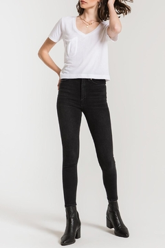 Shoptiques Product: Classic Skimmer Crop Tee