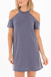 z supply Cold Shoulder Dress - Product Mini Image