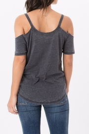 z supply Cold Shoulder Tee - Front full body