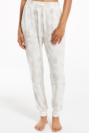 z supply Comfy Floral Jogger - Product Mini Image