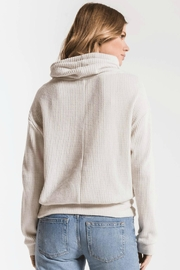 z supply Cowl Neck Waffle - Side cropped