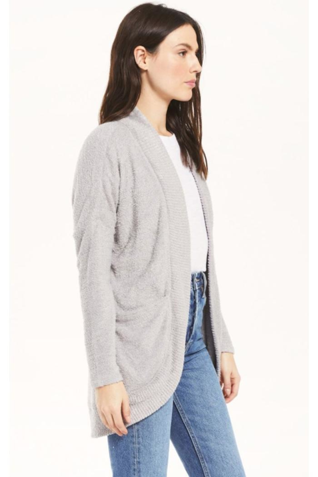 z supply Cozy Open Cardigan - Front Full Image
