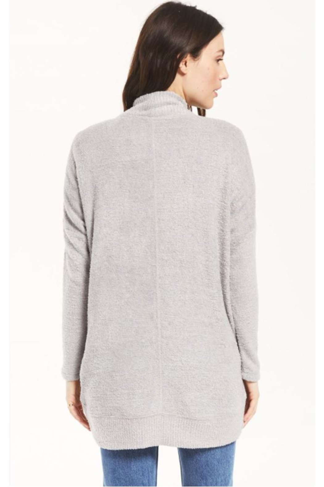 z supply Cozy Open Cardigan - Side Cropped Image