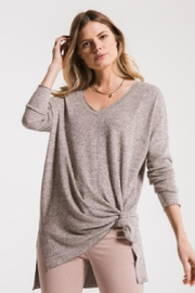 z supply Cozy v-Neck Tunic - Product Mini Image