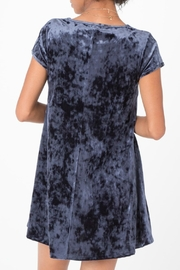 z supply Crushed Velour Dress - Side cropped