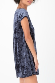 z supply Crushed Velour Dress - Front full body