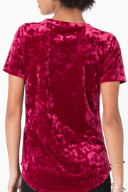 z supply Crushed Velvet Tee - Side cropped