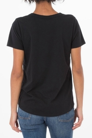 z supply Cutout Choker Tee - Side cropped
