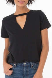 z supply Cutout Choker Tee - Product Mini Image