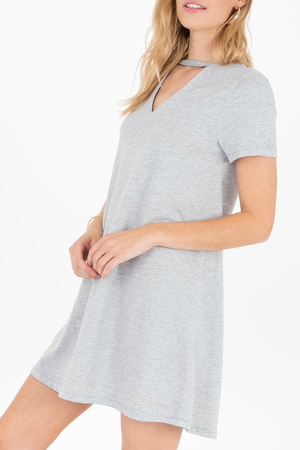 z supply Cutout Front Dress - Front Full Image