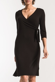 z supply Dahlia Wrap Dress - Product Mini Image