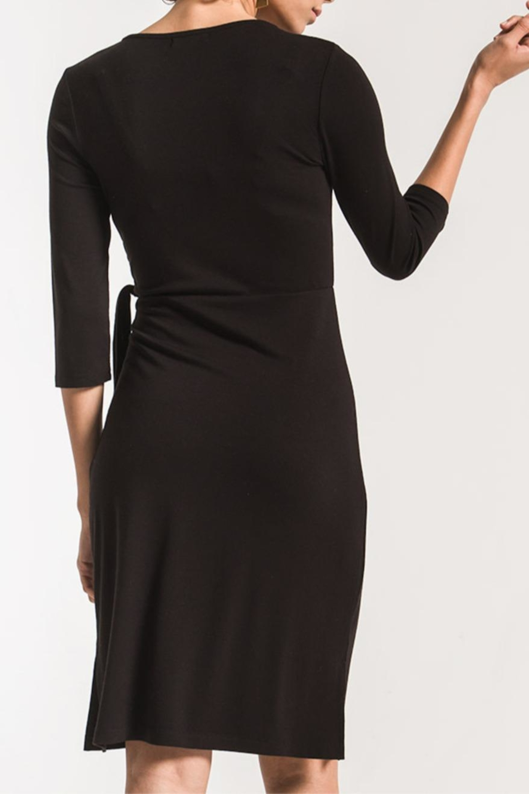 z supply Dahlia Wrap Dress - Front Full Image