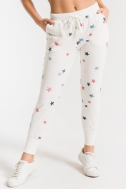 Z Supply  Distressed Star Jogger - Product Mini Image