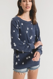 Z Supply  Distressed Star Pullover - Product Mini Image