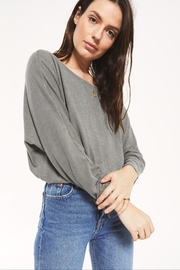 z supply Dollie Slub Sweater Top - Product Mini Image