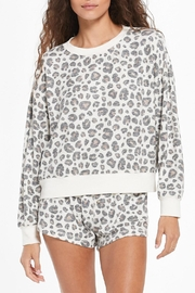z supply Elle Leopard Pullover - Product Mini Image