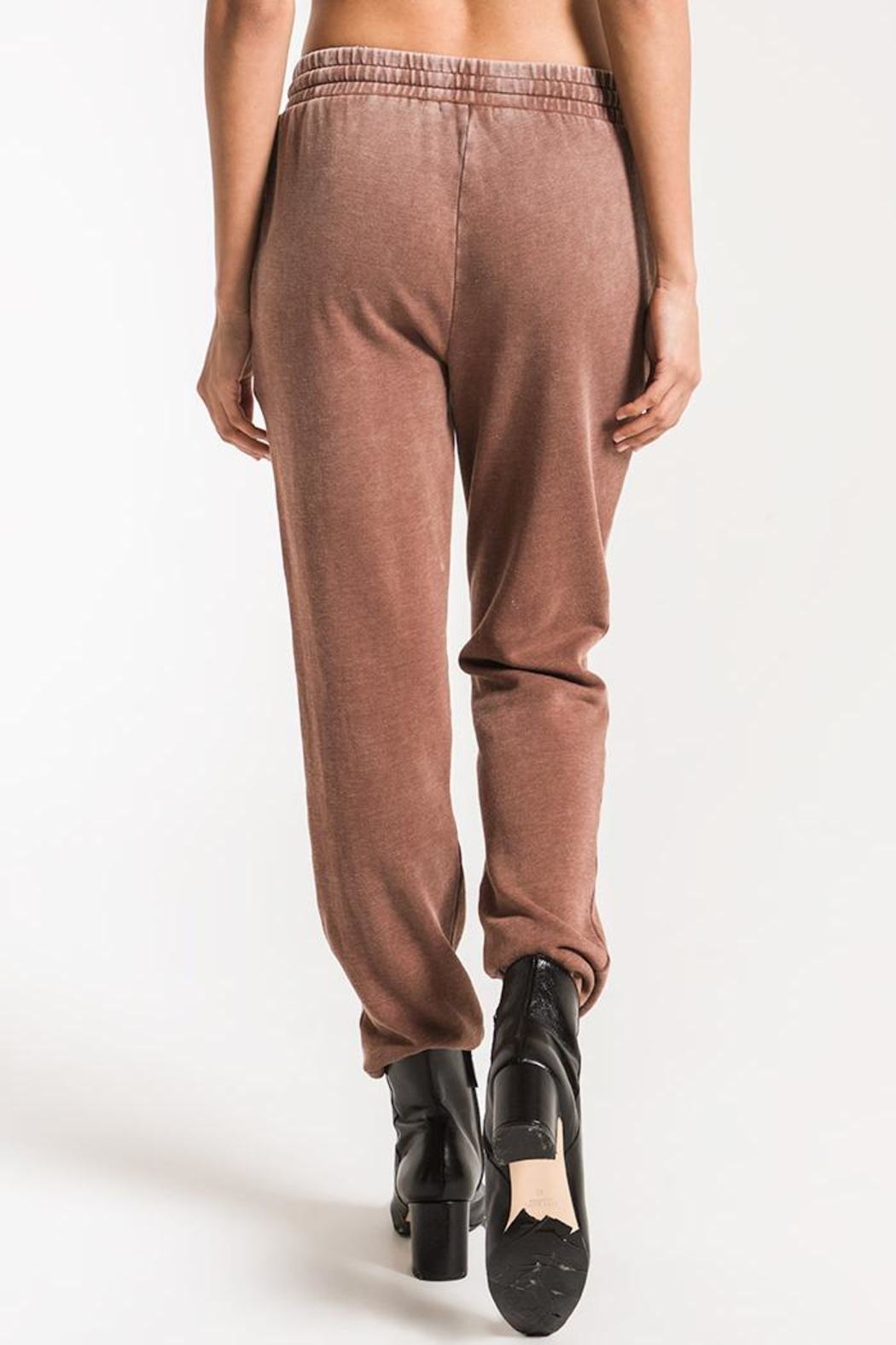 z supply Faded Wash Jogger - Side Cropped Image