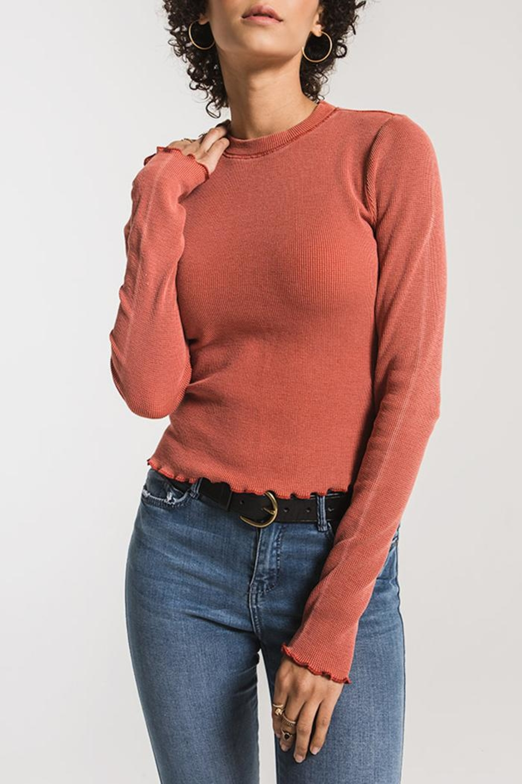 z supply Fitted Thermal Long-Sleeve - Main Image