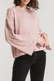z supply Flare Sleeve Pullover - Front full body