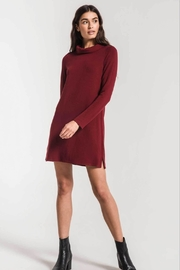 z supply Fleece Turtleneck Dress - Product Mini Image