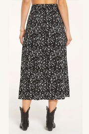 Z Supply  Floral Slitted-Midi Skirt - Side cropped