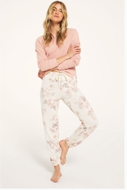 z supply Floral Ultrasoft Joggers - Product Mini Image
