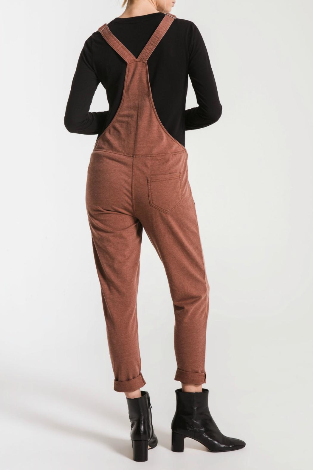 z supply French Terry Overall - Front Full Image