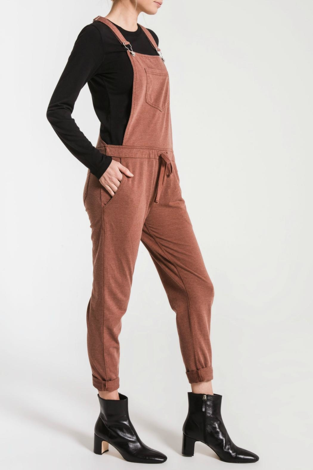 z supply French Terry Overall - Side Cropped Image