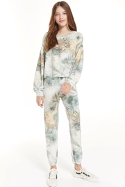 z supply Girls Clementine Tie-Dye Pant - Product Mini Image