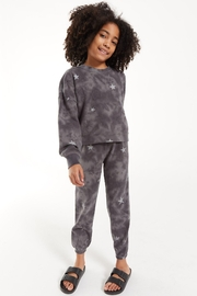 z supply Girls Tira Cloud Star Jogger - Front cropped