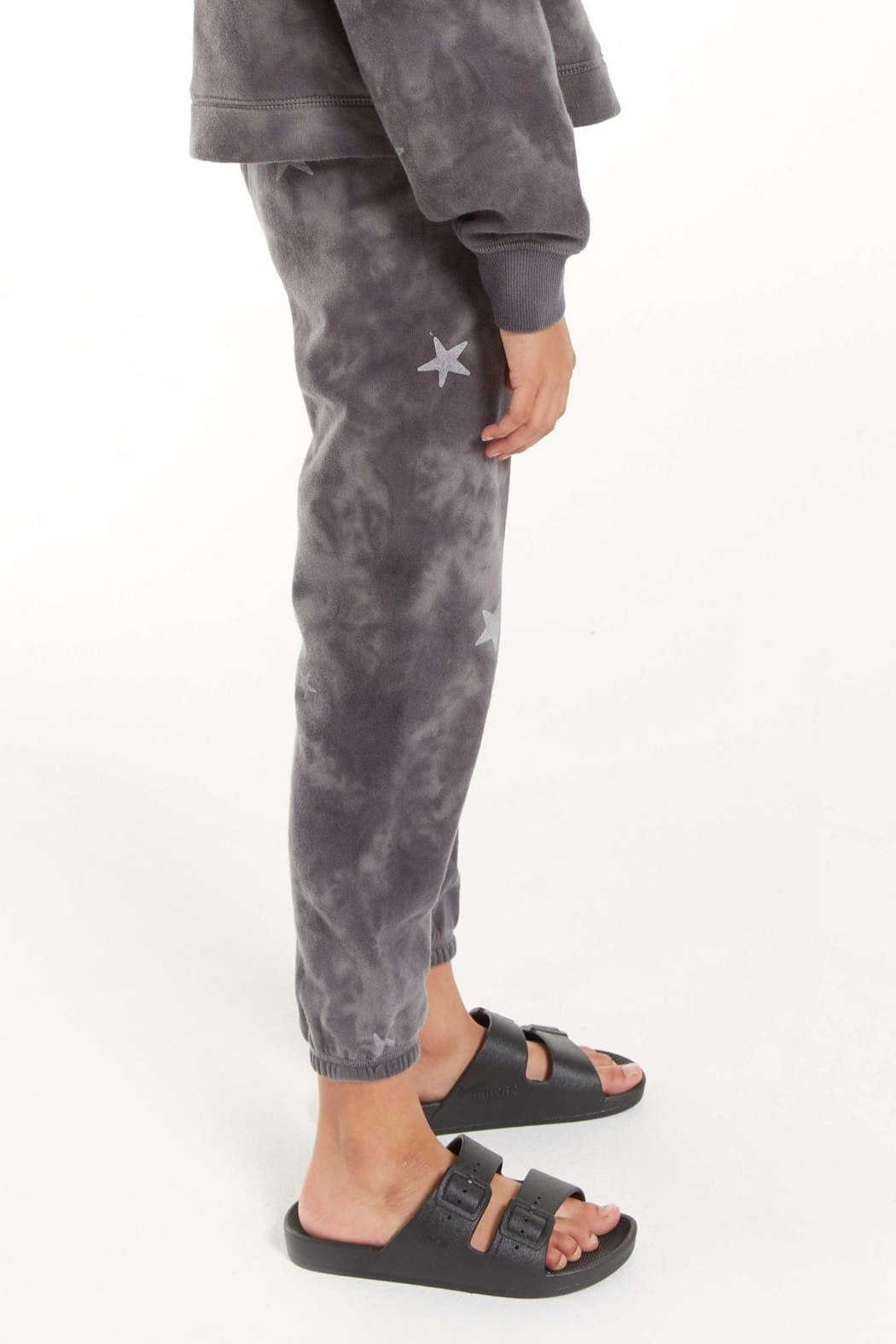 z supply Girls Tira Cloud Star Jogger - Side Cropped Image
