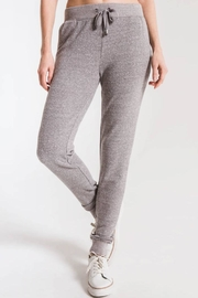 z supply Grey Knit Jogger - Product Mini Image