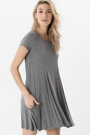 z supply Grey Tee Dress - Product Mini Image
