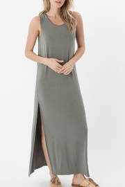 z supply High Slit Maxi Dress - Front cropped