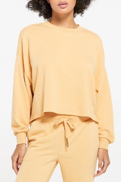 Shoptiques Product: Izzy Terry Pullover