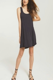 z supply Jersey Dress Black - Front cropped
