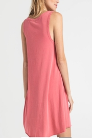 z supply Jersey Dress Tearose - Front full body