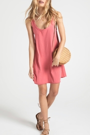 z supply Jersey Dress Tearose - Front cropped