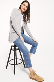 z supply Kaye Feather Cardigan - Front full body