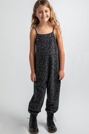 z supply Kids Cheetah Jumpsuit - Front cropped