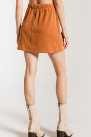z supply Knit Corduroy Skirt - Side cropped