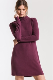 z supply Knit Turtleneck Dress - Product Mini Image