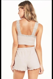 z supply Lacie Waffle Bralette - Front full body