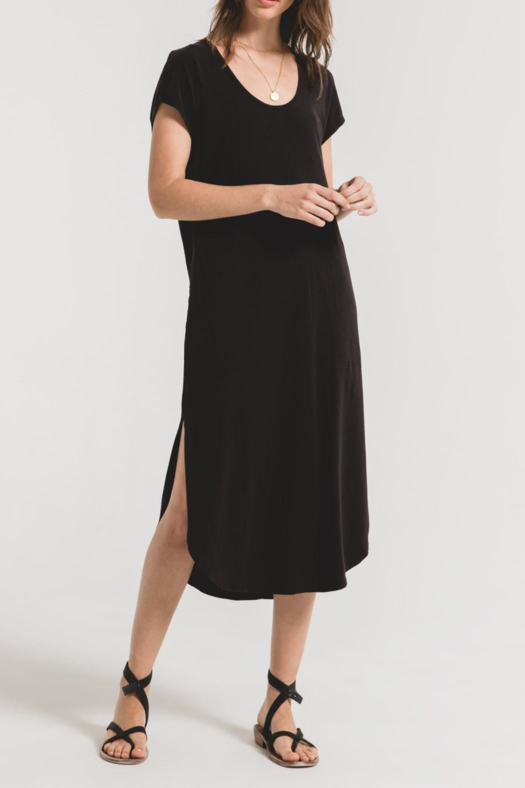 Z Supply  Leira Midi Dress - Front Cropped Image